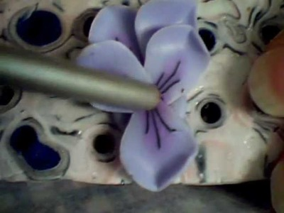 Tutorial Violette in fimo by Violas Fruit Fimo
