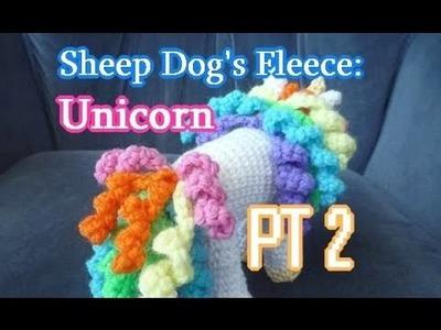 Unicorn Amigurumi PT 2 - Left Handed Crochet Tutorial