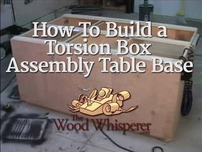 19 - How to Build a Torsion Box Assembly Table Base (Part 2 of 2)