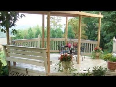 7 Easy To Make DIY Outdoor Pergolas