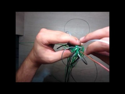 A tutorial of  how to make my best SNAKE version lanyard.scoubidou (part 2.3)     2012