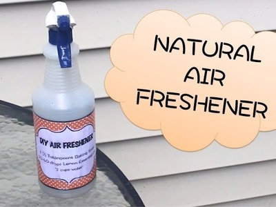 All-Natural Air Freshener {3 INGREDIENT DIY!)