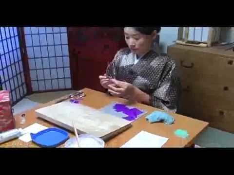 Authentic Tsumami Kanzashi work by Atelier Kanawa Part.3
