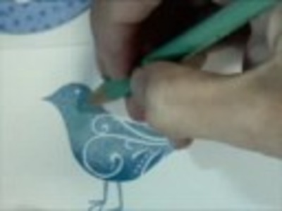 Colored Pencil Stamping