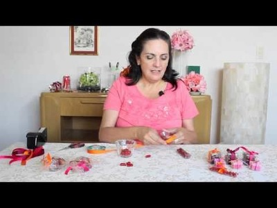 Cómo decorar unos tamarindos confitados para una mesa de dulces