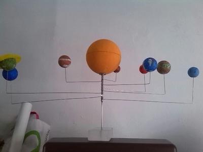 Como se hace un planetario fácil y barato.Planets & Solar System for kids School Education