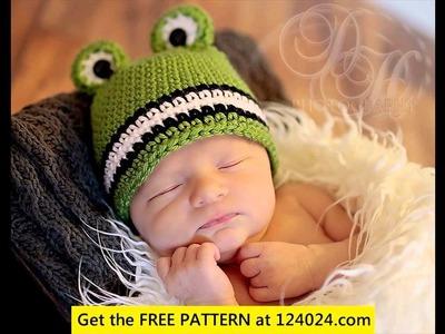 Crochet baby hat for boy