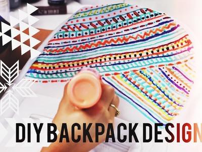 DIY Backpack Design! & #OOTD