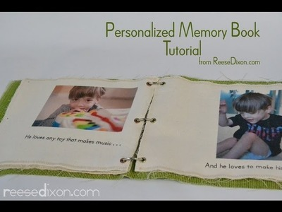 DIY Christmas present for kids: Personalized Story Book