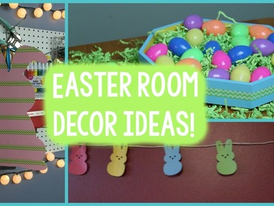 DIY Easter Room Decor + Spring Room Decor | Tanner Bell
