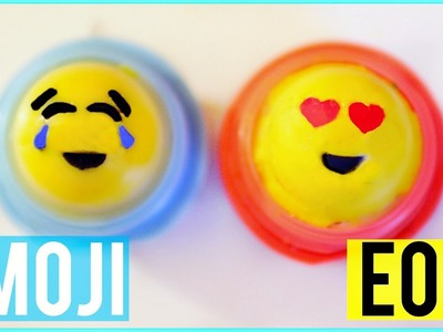 DIY EMOJI EOS LIP BALM! | Turn Lip Balms into Emojis!