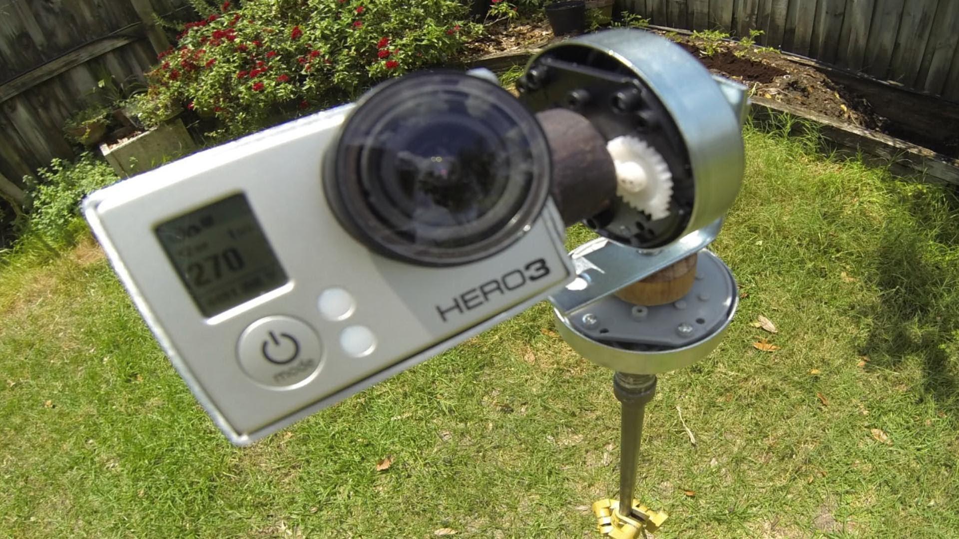 DIY GoPro Pan.Tilt Time-Lapse Rig Part 2