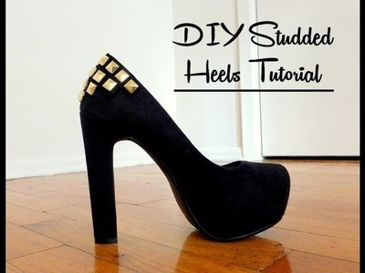 DIY: How to Add Gold Studs to Your Shoes