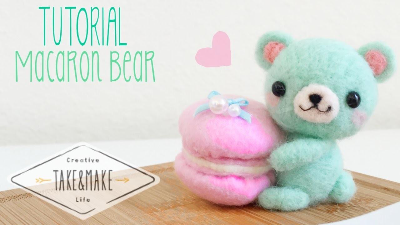DIY Macaron Bear Plushie w. Take&Make Co.