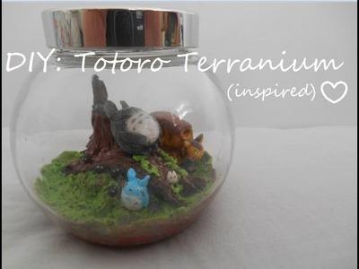 DIY: Totoro Terranium (inspired)