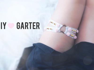 DIY Tumblr Pastel Studded Garter