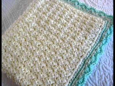 Easy Crochet Patterns For Baby Blankets