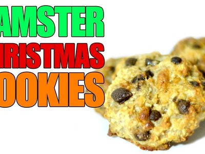 FESTIVE HAMSTER COOKIES | How To