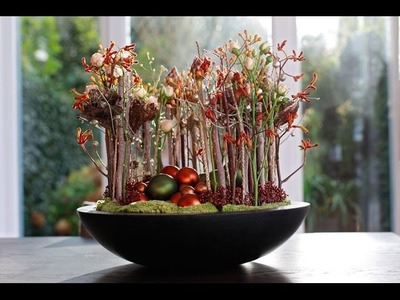 Floral Christmas Decoration, Full how to make