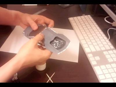 HD Aventador PaperCraft build timelapse (part 1) cutting, front & top build.