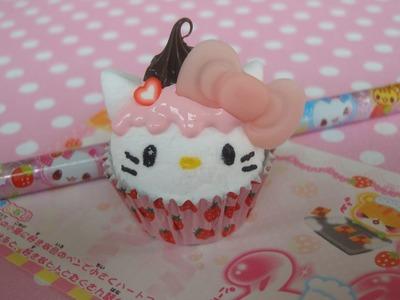 Hello Kitty Cupcake Paperweight Tutorial! =^.^=