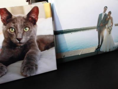 How To: DIY Wedding Canvas Print!