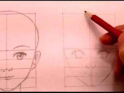 How To Draw Manga - A Tutorial on How to draw manga