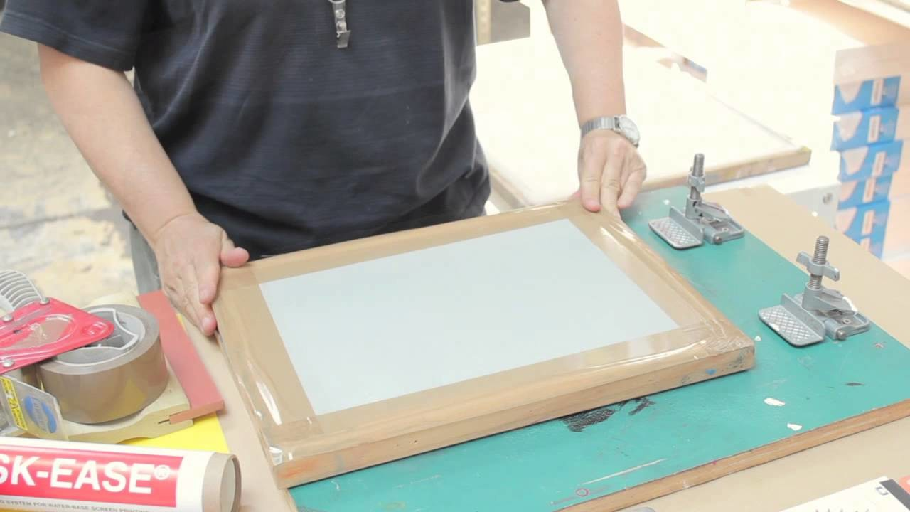 How To: Intro to Screen Printing - Part 1 Materials & Preparation