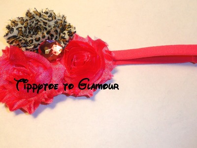 HOW TO: Make a Shabby Chic Flower Headband