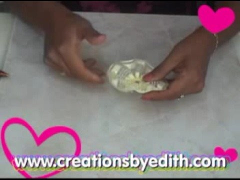 How to make capias or pin-on favors by Edith de la Flor