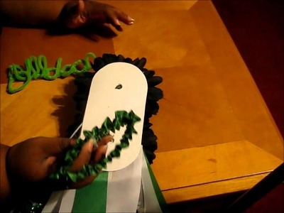 How to Make Homecoming Mums