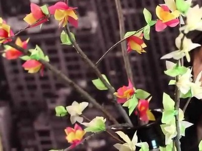 How To Make Paper Flowers | Flower Blossoms