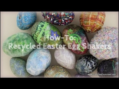 How to Recycle Plastic Eggs into Music Shakers