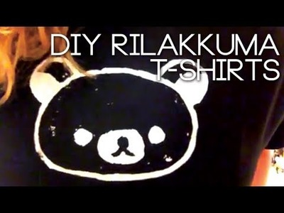 HOW TO: RILAKKUMA T-SHIRTS