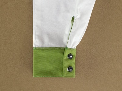 How To Sew A Button Cuff