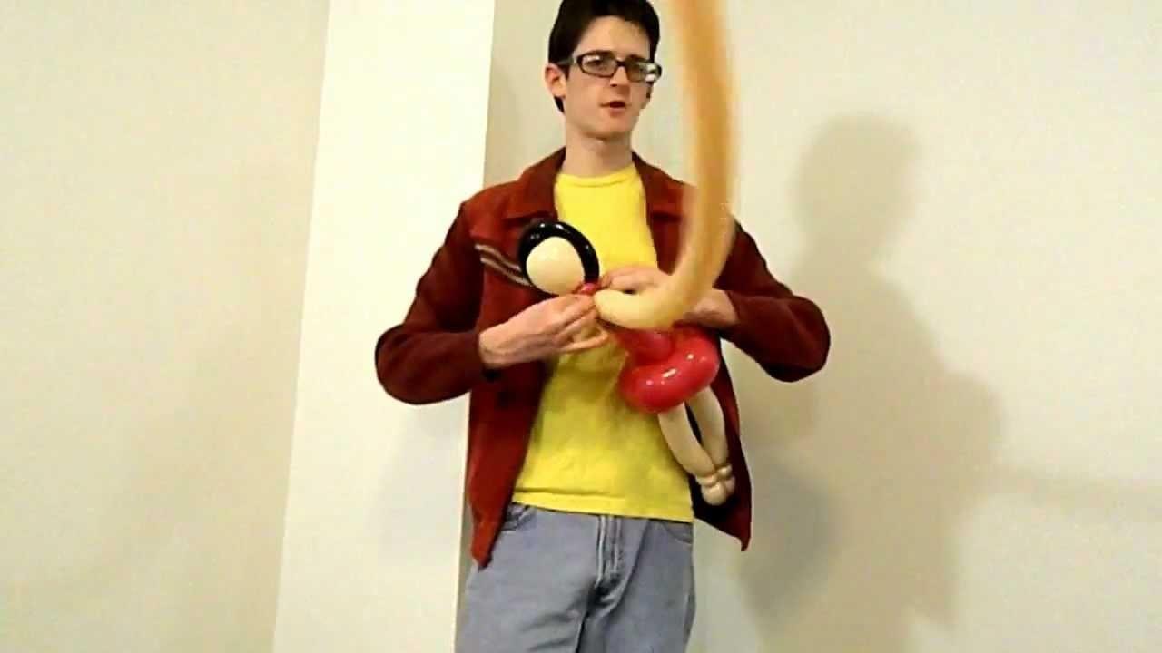 How To Twist A Beautiful Balloon Ballerina