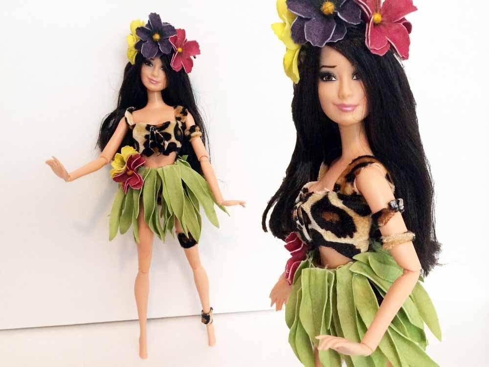 Katy Perry Roar Doll Tutorial - How to make a Katy Perry Doll