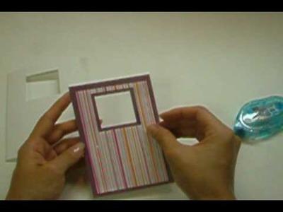 Ku-Ku CARD Sparkly Window (Ventana Brillante)