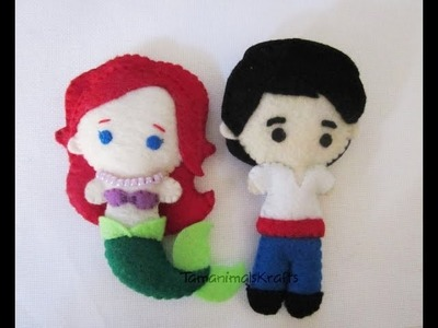 Little Mermaid Plush Tutorial