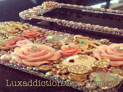 ✦ Luxaddiction.com Iphone 5 Bling Phone Case Review ✦