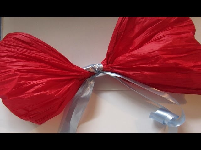 Moño en Papel Seda para decorar tus fiestas - Accessory to decorate your holiday