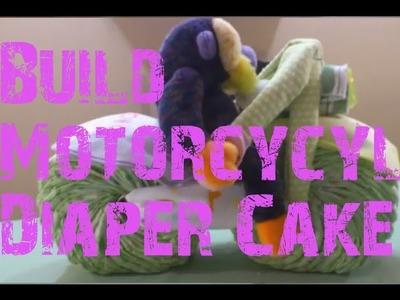 Motorcycle Diaper Cake Guide