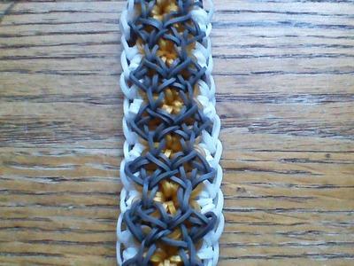 NEW Rainbow Loom Alhambra Bracelet