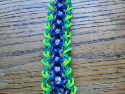 NEW Rainbow Loom Solace Bracelet
