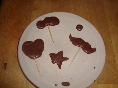 Paletas de chocolate faciles :)