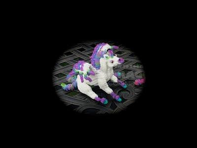 Part 1.5 Rainbow Loom Horse.Pegasus.Unicorn, Baby