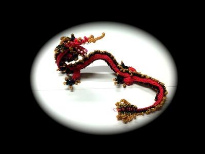 Part 12.12 Rainbow Loom Chinese Dragon Adult