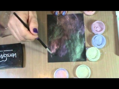 Perfect Pearls Techniques: Stamp Lift