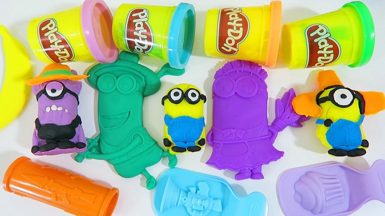 Play Doh Despicable Me Minions Makin' Mayhem Creations Play Dough Despicable Me Movie Playset!