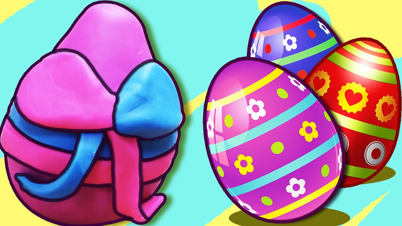 Play Doh | How to Make Play Doh Easter Eggs | Play-Doh Creations